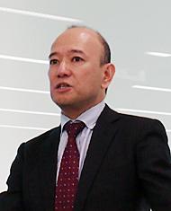 日本IBM 理事 ソフトウェア事業 インフォメーション・マネジメント事業部長の塚本眞一氏