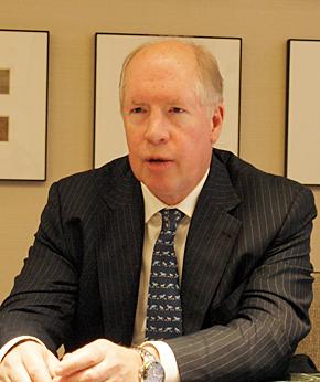 米Dell ソフトウェア担当統括責任者のジョン・スウェインソン氏。IBMやCAなどでソフトウェアビジネスをけん引してきた