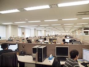 日本マイクロソフト 調布技術センター内にあるカスタマーサポートの現場