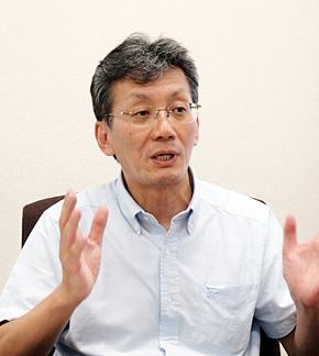 ポーライト 経営改善室 部長の安部良夫氏