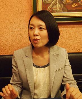 日本マイクロソフト 社長室 コーポレートコミュニケーション部の宮田麻子さん