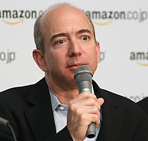 Amazonのジェフ・ベゾスCEO
