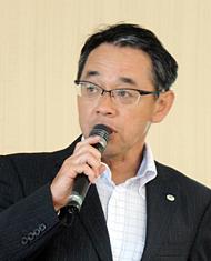 日立製作所 ITプラットフォーム事業本部 プラットフォーム販売推進本部 販売戦略部 担当部長の吉村誠氏
