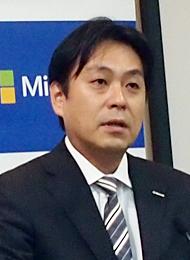 日本マイクロソフト 執行役 ゼネラルビジネス 高橋明宏ゼネラルマネジャー