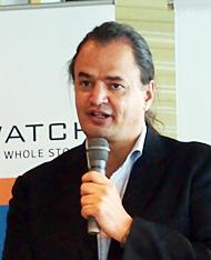 Datawatch アジアパシフィック地区担当マネージングディレクターのカール・モアントレ氏