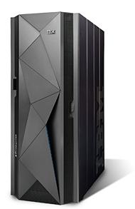 メインフレーム製品のミッドレンジモデル「IBM zEnterprise BC12」