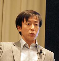 サイボウズ社長の青野慶久氏