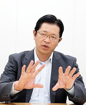 日本IBM ソフトウェア事業 ラショナル事業部 理事 事業部長の渡辺公成氏