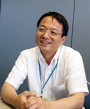 マツダ ITソリューション本部 インフラシステム部 オフィスインフラグループの山根恵慈さん