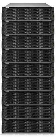 「TS-EC1679U-SAS-RP」と「REXP-1600U-RP」8台の最大構成時