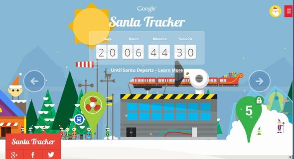 santa google 1