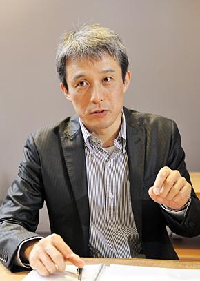 日本HP エンタープライズグループ事業統括 HPストレージ事業統括本部 ストレージ マーケティング本部 本部長の瀧澤一彦氏