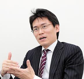 日本IBM システム製品事業 ストレージ事業部 第四営業部 部長の西川望氏