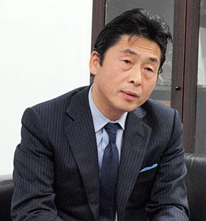 石川県情報システム工業会副会長で、システムサポート社長の小清水良次氏