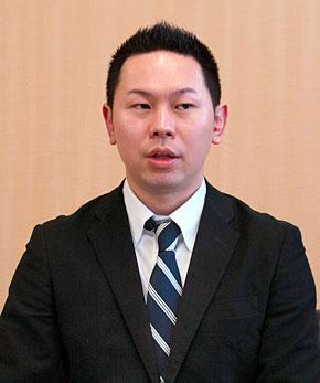 キュービーネット 経営管理部 システムグループ長の坂口浩芳氏