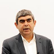 独SAPのエグゼクティブ・ボード・メンバーで、プロダクト&イノベーション担当のビシャル・シッカ氏