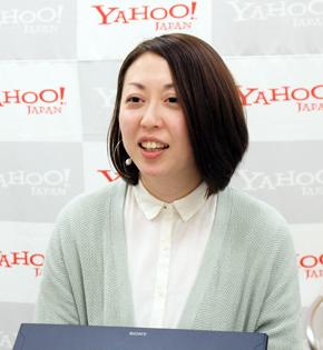 ヤフー データソリューション本部 サービスソリューション部 部長の衣目麻里氏