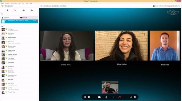 通話 - Skype Support for Skype for Windows desktop