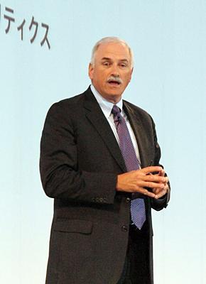 米IBM ソフトウェア&クラウド・ソリューション 上級副社長のロバート・ルブラン氏