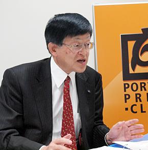 伊藤園 CSR推進部長の笹谷秀光取締役