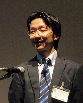 データセクション取締役会長の橋本大也氏。データエクスチェンジ・コンソーシアム理事長も務める