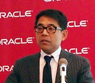 日本オラクル 専務執行役員 データベース事業統括の三澤智光氏