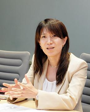 SAPジャパン クラウドファースト事業統括本部 HANA Enterprise Cloud推進室 室長の古濱淑子氏