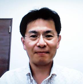 エムネスの北村直幸社長。取材はWeb会議で行われた