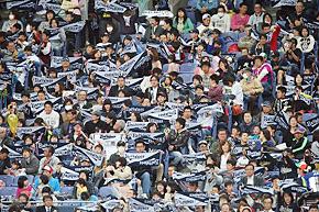 タオルを使った応援が人気(写真提供:オリックス野球クラブ)