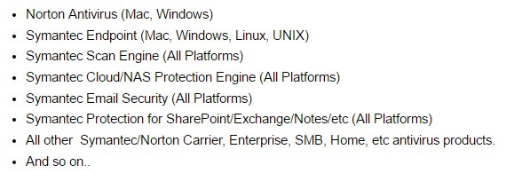 Symantecのウイルス対策基幹部分に深刻な脆弱性、法人・…