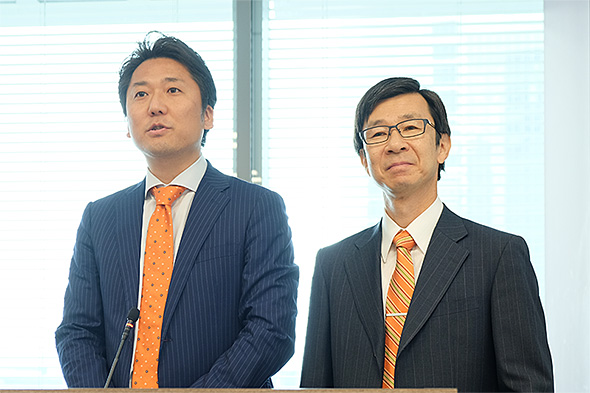 Salesforce.com 手島氏とAWS 今野氏