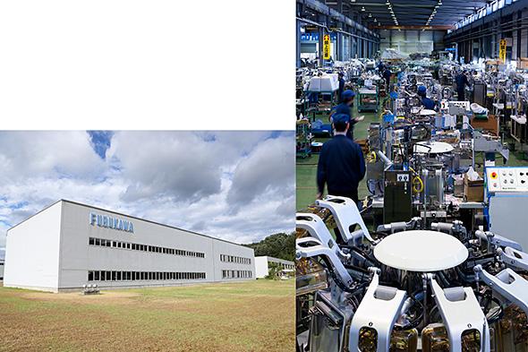 古川製作所の工場