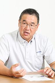 株式会社古川製作所 IT戦略室 副室長 兼 情報システム課 顧問 余越 紀之氏