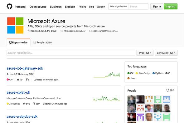 Microsoft Azure GitHub