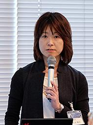 SCSK ソリューション事業部門 AMO第二事業本部 先進開発部 第一課 課長の松本妙子氏