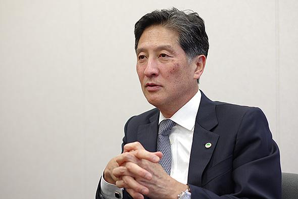 日立製作所 執行役副社長の齊藤裕氏