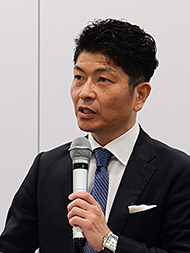SAPジャパン バイスプレジデント ゼネラルビジネス統括本部 統括本部長 牛田勉氏