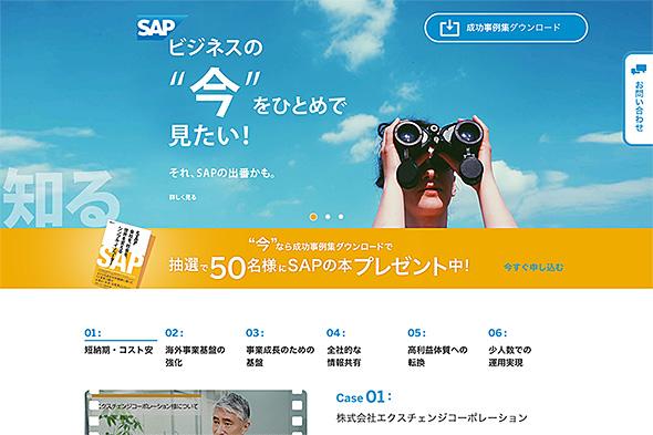それ、SAPの出番かも