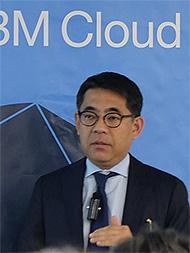 日本アイ・ビー・エム 取締役専務執行役員 IBMクラウド事業本部長の三澤智光氏
