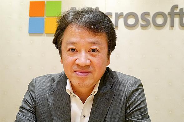 日本マイクロソフト 執行役員 最高技術責任者(CTO)の榊原彰氏