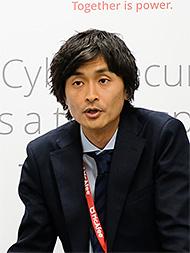 マカフィー セールスエンジニアリング本部 本部長の櫻井秀光氏