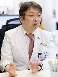 東京慈恵会医科大学 先端医療情報技術研究講座 医学博士高尾洋之氏
