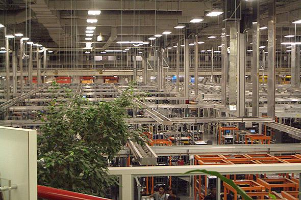 米HPEのヒューストン事業所の巨大工場
