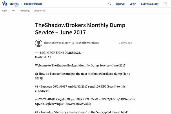 Shadow Brokers