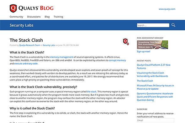 Stack Clash