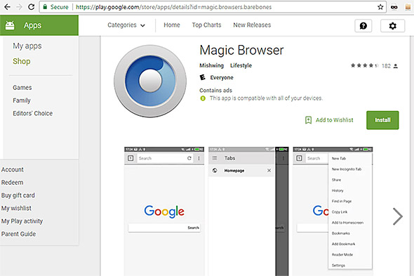 Magic Browser