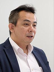 法人事業部 課長の加藤義已氏