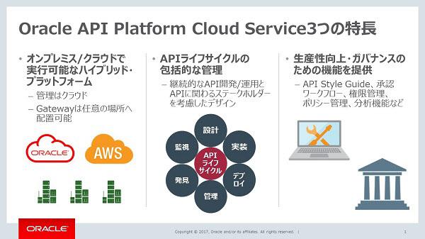 日本オラクル、クラウド型API管理ツール提供 ライフサイクルを一元管理