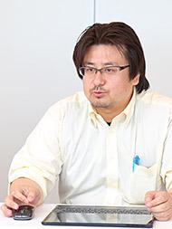 シーバイエス ISグループ レポートサービス担当の藤岡氏