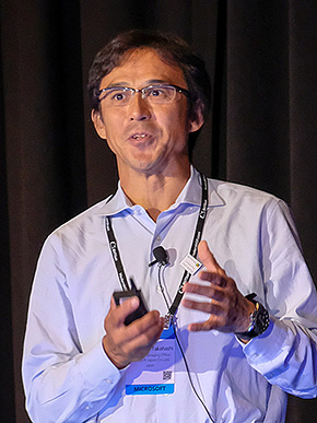 日本マイクロソフト パートナー事業本部 本部長の高橋美波氏